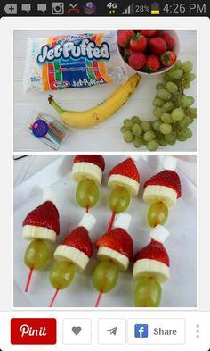 Santa fruit sticks