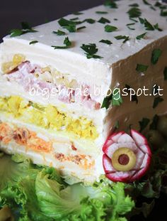 Super Sandwich with Cream Cheese Coating | Webflakes