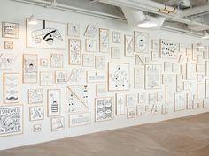 <3   Office-Inspiration: Künstler Timothy Goodman kreiert inspirierendes A…