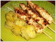 Η απόλαυση της βρώσης Cookbook Recipes, Cooking Recipes, Zucchini, Chicken, Vegetables, Kebabs, English Lessons, Food, Cooker Recipes