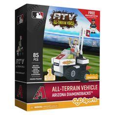 MLB Arizona Diamondbacks Oyo Atv Toy Vehicle - 85pcs