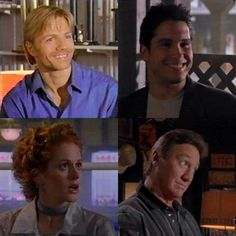SONS OF THUNDER cast - Trent Malloy, Carlos Sandoval, Kimberly Sutter, and Butch McMann