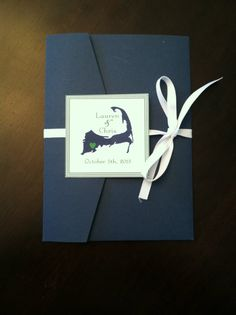 Want to WOW your guests with a beautiful Cape Cod Wedding Invitations for your upcoming wedding?!    This invitation can be customized to you,