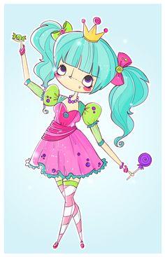 candy princess by agusmp on DeviantArt