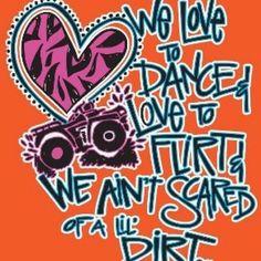 We love to dance and flirt!