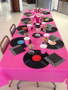 Countryside Market Bertrand decorated Ladies Tea at nursing home 50's-60's rock. 'N roll