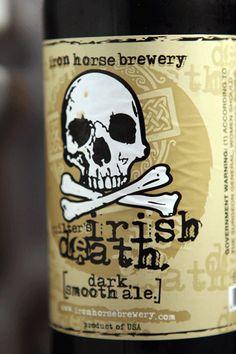 Quilter's Irish Death Beer Brewing, Home Brewing, Irish Alcohol, Malt Beer, Beers Of The World, Beer Brands, Beer Packaging, Brew Pub, Beer Recipes