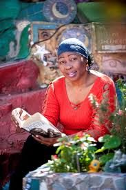 Gcina Elsie Mhlophe (freedom fighter, activist, actor, storyteller, poet, playwright, director and author.)