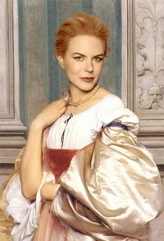 35 Celebrities As Classic Paintings