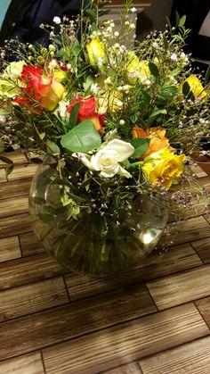 Mooi bouquet paasbloemen