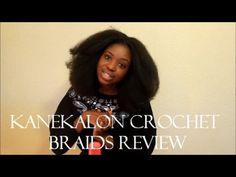 Kanekalon Crochet Braids Review   Protective Style