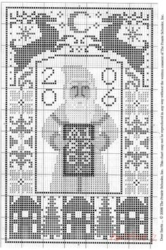 Santa Collection • 2/3 Santa 2006 Chart: Dear Santa