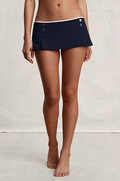 Women's Montauk Solid Skirted Swimsuit Bottom    $24.99