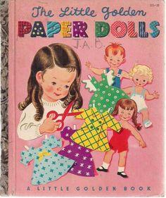 The Little Golden Paper Dolls 1951 Little Golden Book | eBay