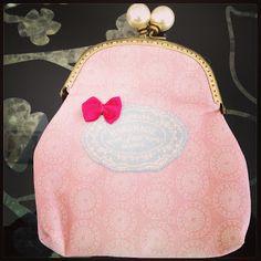 Monedero retro pink