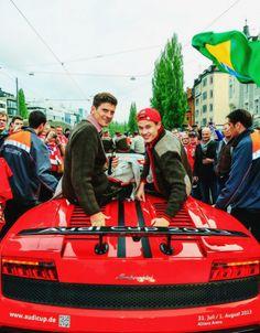 Mario Gomez and Holger Badstuber