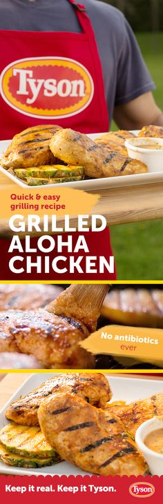 Cook up a complex medley of sun-kissed summer flavors with this bbq recipe. As the chicken cooks on your gas or charcoal grill, apply the sauce of pineapple juice, brown sugar, and chilies for a triple-threat taste.