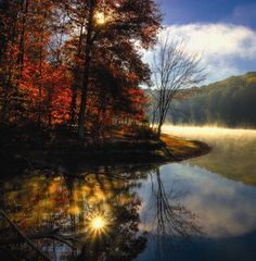 Salt Creek meanders through the Hoosier National Forest and into the quiet end of Lake Monroe. Photo by Geoff Thompson