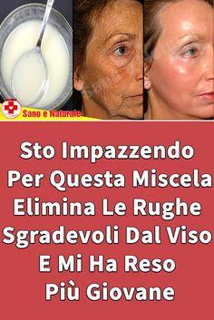 Questa miscela ti aiuterà a rimuovere facilmente rughe viso. Beauty Make Up, Beauty Care, Diy Beauty, Beauty Skin, Beauty Hacks, Face E, Face And Body, Comidas Fitness, Healthy Beauty