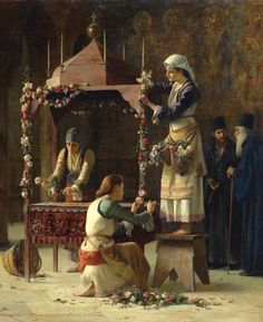 """""""Holy Friday, Greece"""" (1893). Oil on canvas 