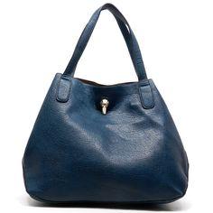 Henley Satchel in Blue