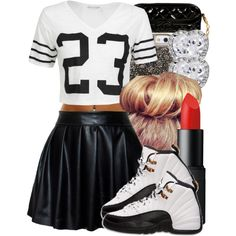 All them 5's need to listen when the 10 is talking .., created by trillxtrick on Polyvore
