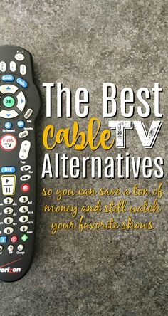 Nowadays there are so many cable TV alternatives that it's a wonder any of us use old fashioned cable! If you've considered cutting the cord before, these are the best tv alternatives to start with so that you can start to watch TV without cable! Tv Hacks, Netflix Hacks, Frugal Living Tips, Frugal Tips, Watch Tv Without Cable, Tv Options, Cable Options, Cable Tv Alternatives, Free Tv And Movies