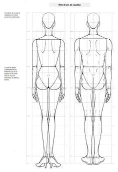 Libro de diseño de moda Fashion Sketch Template, Fashion Figure Templates, Fashion Design Template, Fashion Illustration Tutorial, Fashion Illustration Sketches, Fashion Sketches, Design Illustrations, Fashion Design Sketchbook, Fashion Design Portfolio
