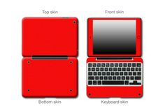 Formula 1 Red Matte Antibacterial #ClamCasePro #Pro #iPad #iPadMini #Apple #Tablet #Tablets #Computers #Keyboard #Gadget #Gadgets #Electronics #Electronic #Shield #Shields #Protector #Protectors #Decals #Skin #Skins #Wrap #Wraps #Vinyl #3M #Antibacterial #Matte #Red #Blue #Black #Grey