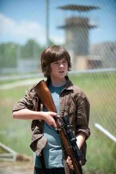 Chandler Riggs. Can we just talk about my husband and how beautiful he is?