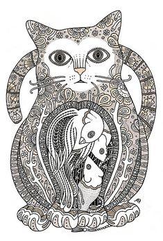 Cat #illustration | Anita Inverarity