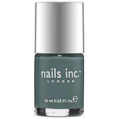 nails inc. - Nail Polish in Green Park - slate blue  #sephora