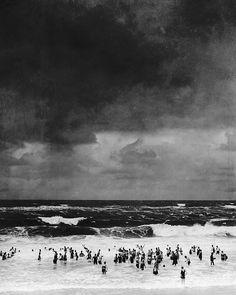 Seashore before the Thunderstorm  1930. By Martin Munkacsi