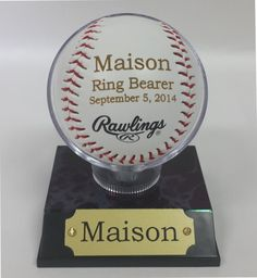 Engraved Rawlings Baseball, MLB Baseballs, Perfect Wedding Gift, Ring Bearer Gift, Groomsmen Gift, Wedding Favor, Groomsmen Favor, Favor.