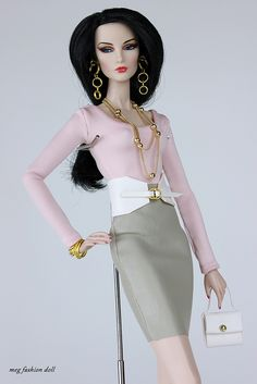 New outfit for Fashion Royalty, / FR 12 '/ FR2 /' Glam VIII''