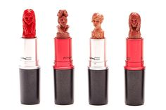 You've Never Seen Makeup Like This Before #refinery29  http://www.refinery29.com/lipstick-art#slide2  A few close-up shots of the detail that goes into each sculpture.