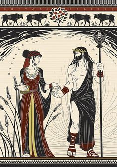 Hades is the one on the right and is Zeus' oldest brother; Hades spouse is Persephone Greek And Roman Mythology, Greek Gods And Goddesses, Hades Greek Mythology, Albrecht Durer, Hades Und Persephone, Persephone Costume, Lore Olympus, Neue Outfits, Greek Art