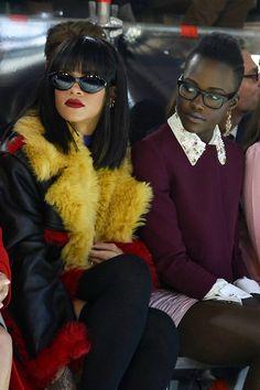 Rihanna & Lupita