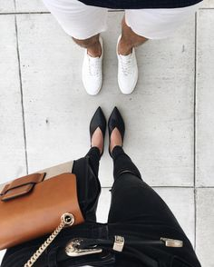 His and hers  link to these flats on my Snapchat  thriftsnthreads