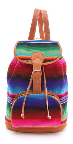 This is a womens mini backpack from Stela 9, a bag carried by a strap on your back or shoulder.
