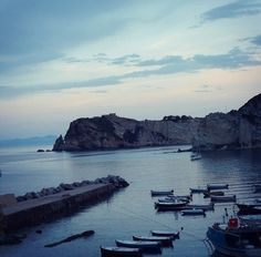 Landscape: Cala Feola, Ponza, Italy
