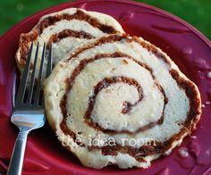 Cinnamon Roll Pancakes Recipe | theidearoom.net