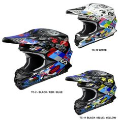 Shoei VFX-W Krack Off Road MX Helmet