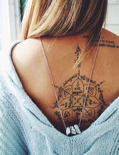 Un étoile des vents dans le dos