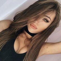 Pinterest// rocheleeee Gorgeous Eyes, Gorgeous Hair, Brunette Beauty, Hair Beauty, Beauty Makeup, Belle Silhouette, Brown Blonde Hair, Woman Face, Dreads