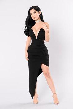 Something Different Dress - Black