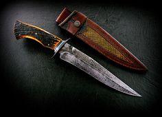 """CAS knives - Claudio Alejandro Sobral y Ariel Ricardo Sobral, José León Suárez, Buenos Aires, Argentina - Fighter 9.5""""- cuchillos artesanales"""
