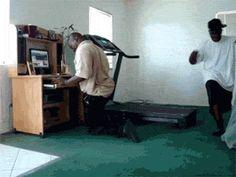 Treadmill fail…