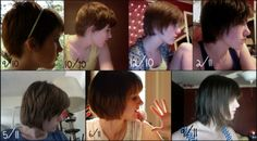 Here we go again, creating my own hair timeline,growing out a pixie cut, but this is a good timeline of how long it will take to get a short bob!