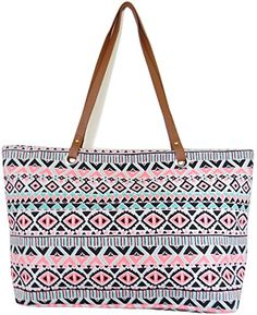 Large Utility Tote Bag by YJ Collection - Super Cute!